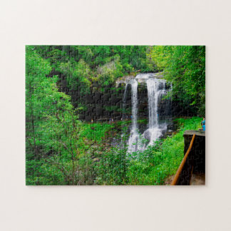 Dry Falls North Carolina. Jigsaw Puzzle