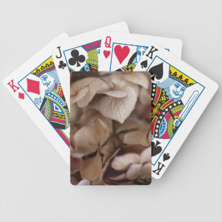 Dry Flowers Bicycle Playing Cards