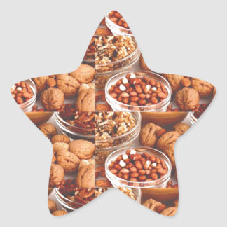 DRY FRUITS daily diet health cuisine experts chefs Star Sticker