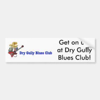 Dry Gull Blues Club Get On Up Sticker Bumper Sticker