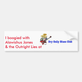 Dry Gully Outright Lies Sticker Bumper Sticker