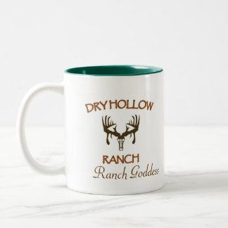 Dry Hollow Ranch - Ranch Goddess Two-Tone Coffee Mug