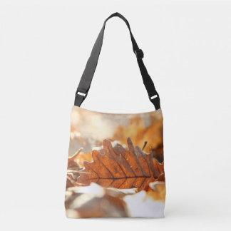 Dry leaf crossbody bag