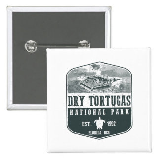 Dry Tortugas National Park 2 Inch Square Button