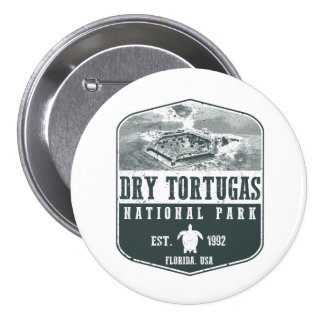 Dry Tortugas National Park 3 Inch Round Button