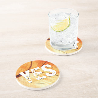Dry Wood Is Necessary Coaster