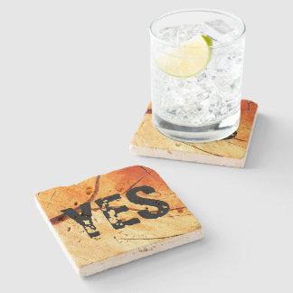 Dry Wood Is Necessary Stone Coaster
