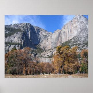 Dry Yosemite Falls Print