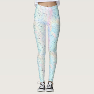 Dryad: Pale Rose,  Blue Romance, Fog, Alice Blue Leggings