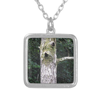 Dryad Silver Plated Necklace