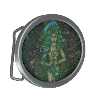 Dryads Chalice Buckle Oval Belt Buckle