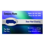 Dryer Vent Cleaning Business Cards