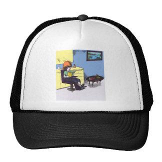 Drying Hair in a Beauty Salon Trucker Hat