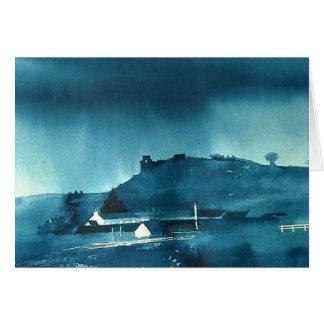 Dryslwyn Castle Card