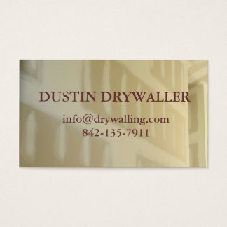 drywall business card