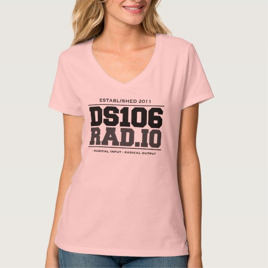 DS106RAD.IO Radical In Radical Out T-Shirt (Women)