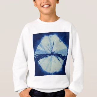 DSC03486.JPG round indigo circle art Sweatshirt