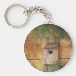 DSC09575.JPG  Bird House Basic Round Button Keychain