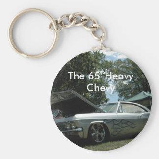 DSC_0010, The 65' Heavy Chevy Basic Round Button Keychain