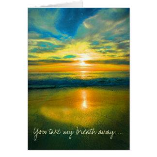 DSC_0306 You take my breath away Greeting Card