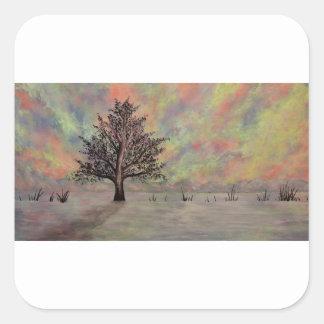 DSC_0972 (4).JPG Eternal sky by Jane Howarth Square Sticker