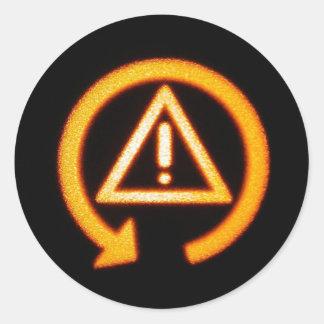 DSC Off round sticker