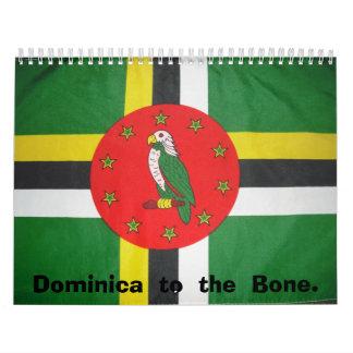 DSCF0154, Dominica  to  the  Bone. Calendar