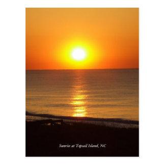 DSCF2915, Sunrise at Topsail Island, NC Postcard