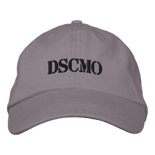 DSCMO Police cap Adjustable cap Embroidered Baseball Cap