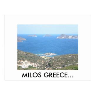 DSCN0492, MILOS GREECE... POSTCARD