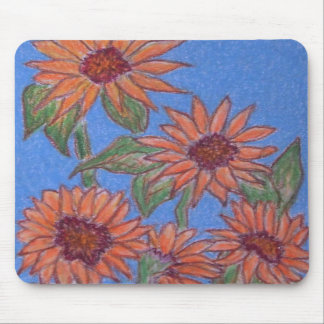DSCN1840 Sunflower Mouse Pad