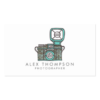DSLR Camera Photographer Business Cards