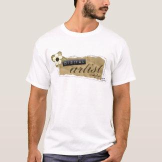 DST Torn Paper Plus Size T-Shirt