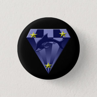 DSX: Star colonel 1 Inch Round Button