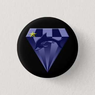 DSX: Star commander 1 Inch Round Button