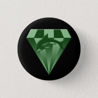 DSX: warrior badge 1 Inch Round Button
