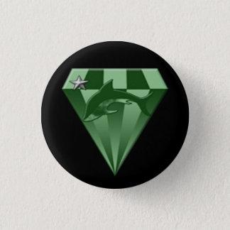 DSX: warrior badge 2nd rank 1 Inch Round Button