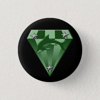 DSX: warrior badge 4th rank 1 Inch Round Button