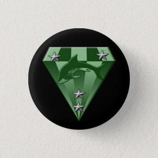 DSX: warrior badge 5th rank 1 Inch Round Button