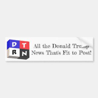 DT Real News Logo Bumper Sticker