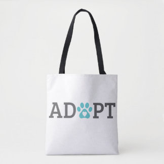DTDR Adopt Tote Bag White
