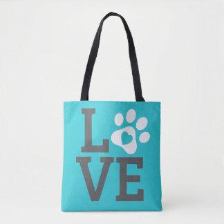 DTDR Love Tote Bag Blue