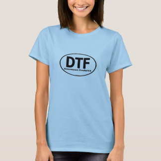 DTF Downtown Frederick Ladies Shirt