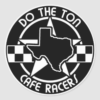 DTT Texas Reion Classic Round Sticker