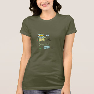 DTV Girls Downhill Monster tee