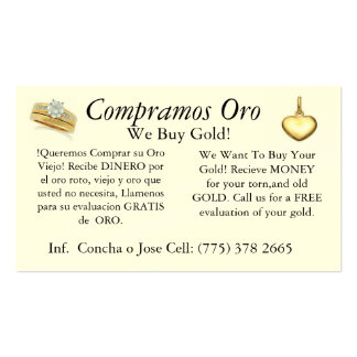 Dual car jewlery and cellphone business card