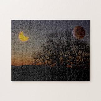 Dual Eclipses Puzzle