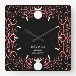 Dual Gods Clock for Wiccan Gay Newly Weds