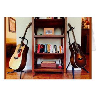 Dual Guitars Card