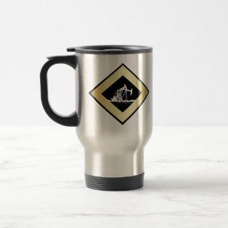 Dual Oil Well Pumping Units (Customizable) Travel Mug